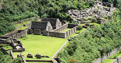 Visit to Choquequirao
