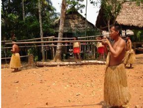 Native Tribe Iquitos