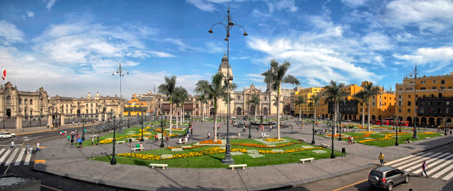 Main Plaza of Lima
