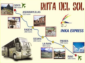 Trip by Bus Cusco to Puno